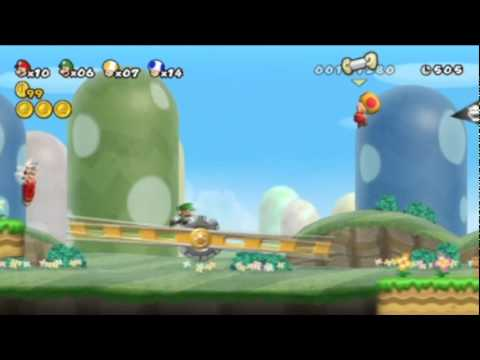 New Super Mario Bros. Wii - Episode 1