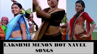 getlinkyoutube.com-LAKSHMI MENON hot navel songs || ultra slo-mo