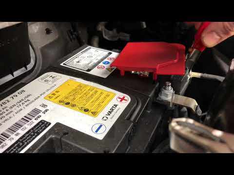 How to test your starter (engine) how to perform a Cranking test on Mercedes Benz C180 Coupe DIY