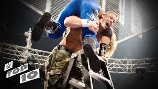 getlinkyoutube.com-The Most Insane TLC Match Moments - WWE Top 10