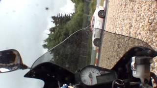 Onboard GSXR 1000 crash