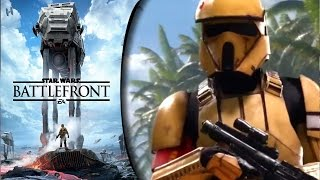 getlinkyoutube.com-Star Wars: Battlefront (2015) PC HD: Rogue One: Scarif DLC: Infiltration | Empire