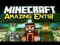 Minecraft: FOREST ENTS MOD Spotlight! - Part Of Mo' Creatures! (Minecraft Mod Showcase)