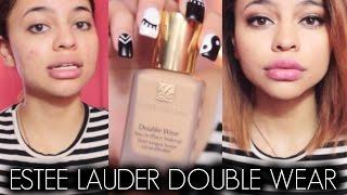 First Impression/Demo♡Estee Lauder Double Wear Foundation & Concealer