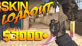 getlinkyoutube.com-CS:GO - My Skin Loadout! ($3000+)