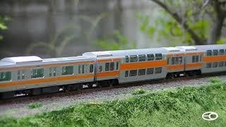 getlinkyoutube.com-中央線E233 2階建デビュー(Nゲージ)