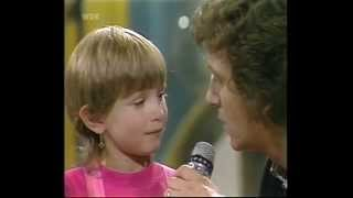 Rebecca bei Kinderquatsch mit Michael 1.Sendung Telefant 1985