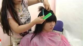 getlinkyoutube.com-☆ Haircut #558  Short BOB ショートボブ