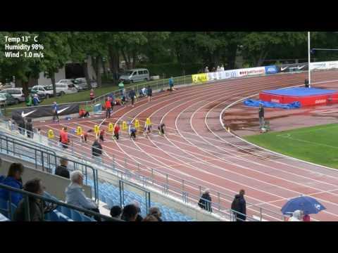 Third 100m race 2016