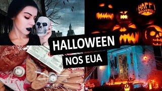 getlinkyoutube.com-VLOG: Halloween nos EUA | Cabide Colorido