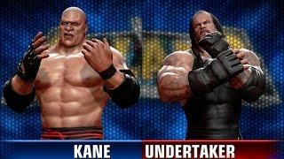 getlinkyoutube.com-XBox 360 ¦ WWE ALL STARS ¦ Kane VS The Undertaker