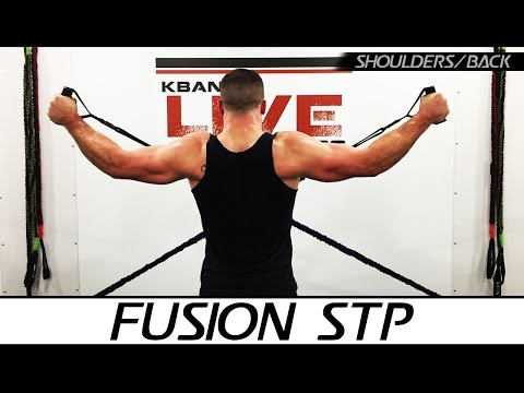 Fusion STP Shoulders & Back At Home Workout