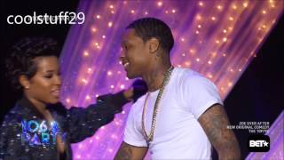 getlinkyoutube.com-Lil Durk & Dej Loaf Kiss on 106 & park party 2016! HQ