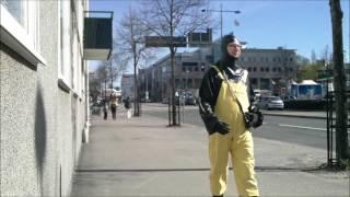 getlinkyoutube.com-street walk in black and yellow latex
