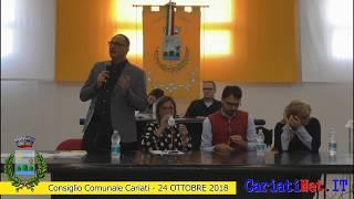 Consiglio Comunale Cariati 24 ottobre 2018   PARTE3