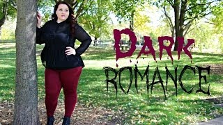 getlinkyoutube.com-Plus Size OOTD: Dark Romance