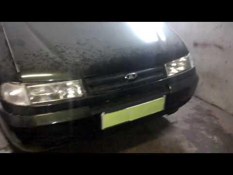 МИРа: ВАЗ-2120 - работа фар и задних фонарей (головной свет)