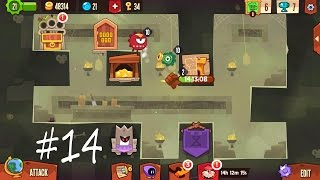 getlinkyoutube.com-King of Thieves Best Defence #14 (Ricochet trap)