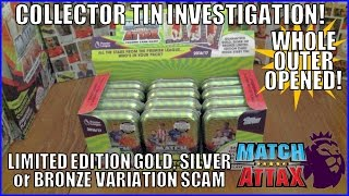 getlinkyoutube.com-INVESTIGATION!! | LIMITED EDITION SCAM in COLLECTOR TINS?? | Topps Match Attax 2016-17 Trading Cards
