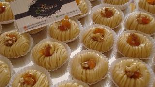 getlinkyoutube.com-شهيوات ريحانة كمال حلويات باللوز ، حلوة باللوز معسلة