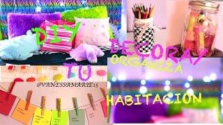 getlinkyoutube.com-DIY: DECORA Y ORGANIZA TU HABITACION | VanessaMarie15