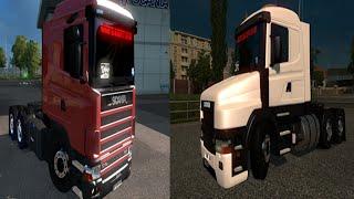 getlinkyoutube.com-Euro Truck Simulator 2 - Scania 124g
