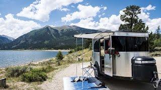getlinkyoutube.com-Walk Through 2017 Airstream Basecamp 16 Small Light Weight Camping Travel Trailer