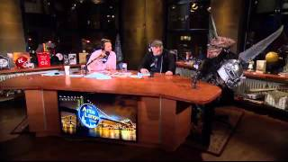 getlinkyoutube.com-The Artie Lange Show - Oderus Urungus & Balsac the Jaws of Death from Gwar - In The Studio