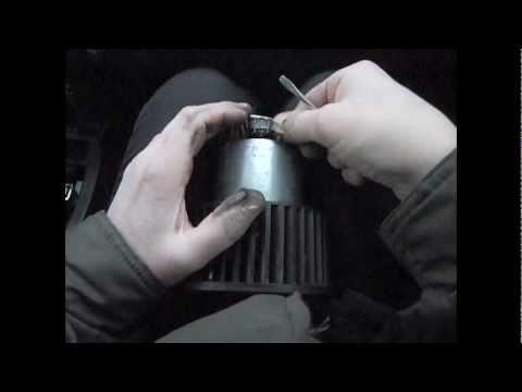 Мотор вентилятора отопителя салона С4