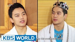 getlinkyoutube.com-Happy Together - Yoo Ohseong, Yeo Jingoo, Jackson (GOT7) & more! (2015.02.12)