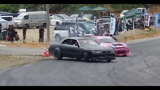 getlinkyoutube.com-マジか?トップドライバーによる神技追走ドリフトOr serious? The God technique with run drift by the top drivers