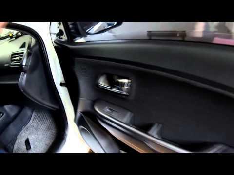 Разборка дверей и снятие обшивки/обивки на KIA RIO 3