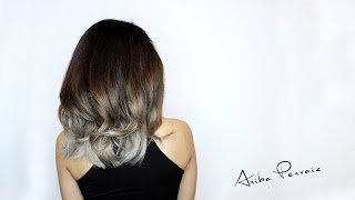 getlinkyoutube.com-Ash Blonde Balayage - Hair Makeover | ARIBA PERVAIZ