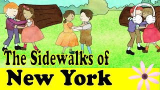 getlinkyoutube.com-The Sidewalks of New York | Family Sing Along - Muffin Songs
