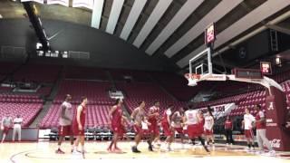 getlinkyoutube.com-Inside Alabama basketball practice in hyper speed