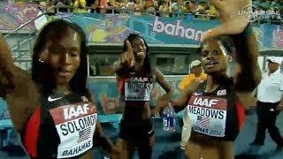 getlinkyoutube.com-American women win 4x200m in World Relay - Universal Sports