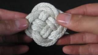getlinkyoutube.com-How to Tie (Cylinder, Mat & Ball) Turk's Heads by TIAT