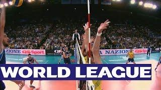 getlinkyoutube.com-Italy v Brazil - Highlights - FIVB Volleyball World League