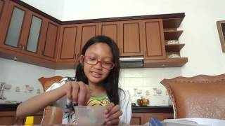 getlinkyoutube.com-Experiment Fake Blood yang gagal(malah jadi slime)