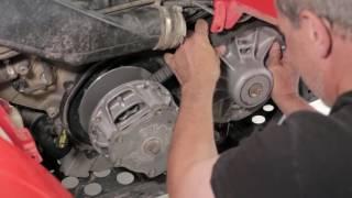 getlinkyoutube.com-2007 Polaris Sportsman 700 Drive Belt Replacement
