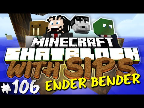 Minecraft: Skyblock with Yogscast Sips #106 - Ender Bender!