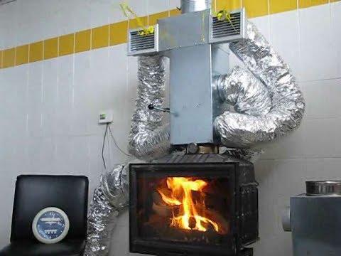 Περισσότερη θέρμανση από τα καυσαέρια ενεργειακού τζακιού