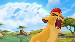 getlinkyoutube.com-Kion's Roar of the Elders - The Rise of Makuu | Lion Guard HD Clip