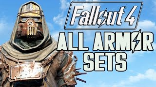 getlinkyoutube.com-FALLOUT 4 - ALL ARMOR SETS!