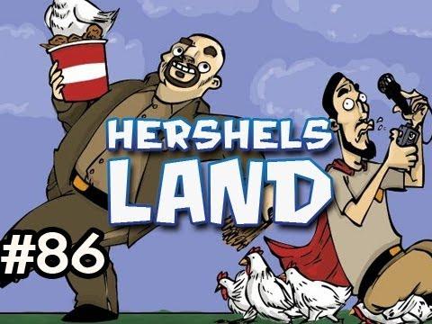 Minecraft: Hershels Land w/Nova & Dan Ep.86 - PARKOUR COW