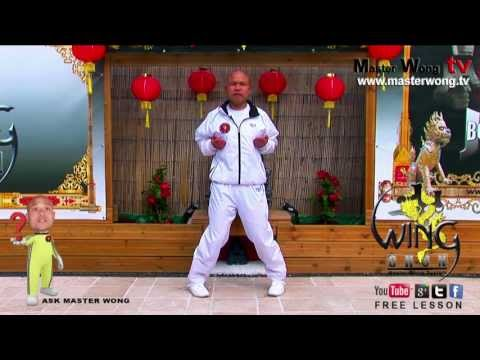 Wing chun course: How to do the basic kicks, lesson 7