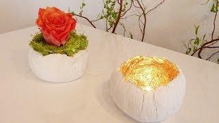 DIY: hübsche kleine Deko-Schalen aus Paperclay einfach selbst machen   Deko Kitchen