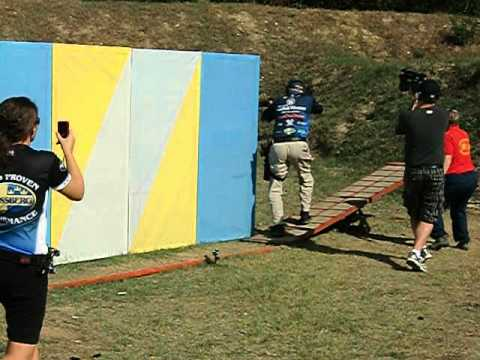 1. IPSC World Shotgun Championship Debrecen Hungary 2012 Jerry Miculek Stage 13.AVI