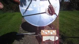 getlinkyoutube.com-Solar powered  Stirling Cycle TMG
