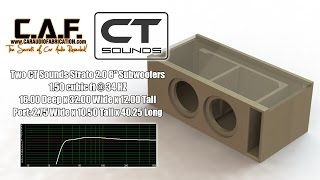 getlinkyoutube.com-CT Sounds How To | Build a Subwoofer Box for Strato 8""